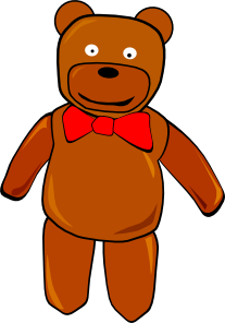Bear clip standing. Clipart panda free images