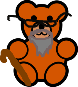 Bear clipart grandpa. Clip art at clker