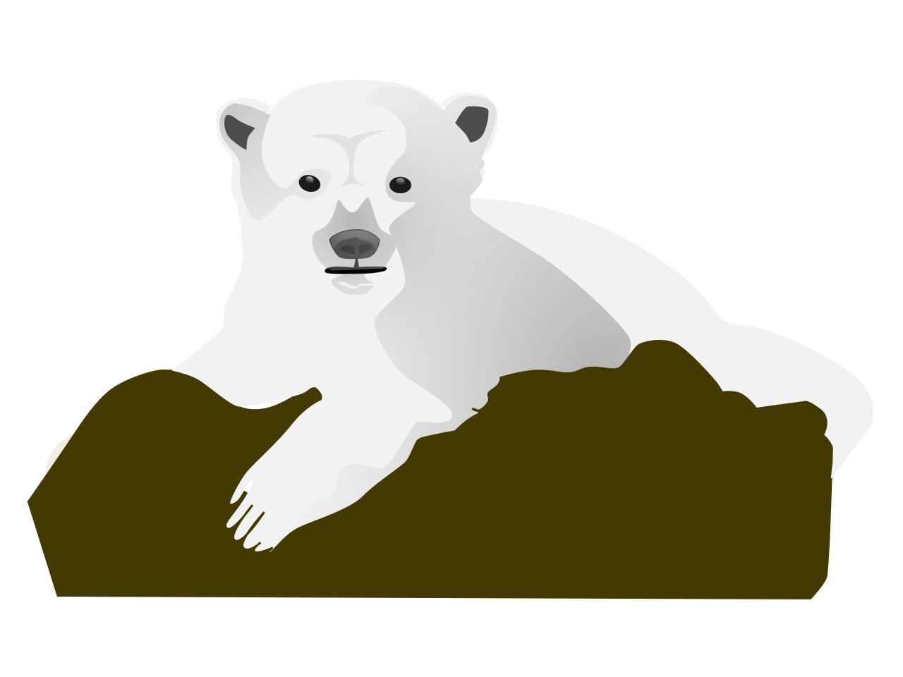 Bear clipart polar bear. File clip art svg