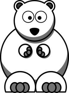 Bear clipart polar bear. Clip art at clker