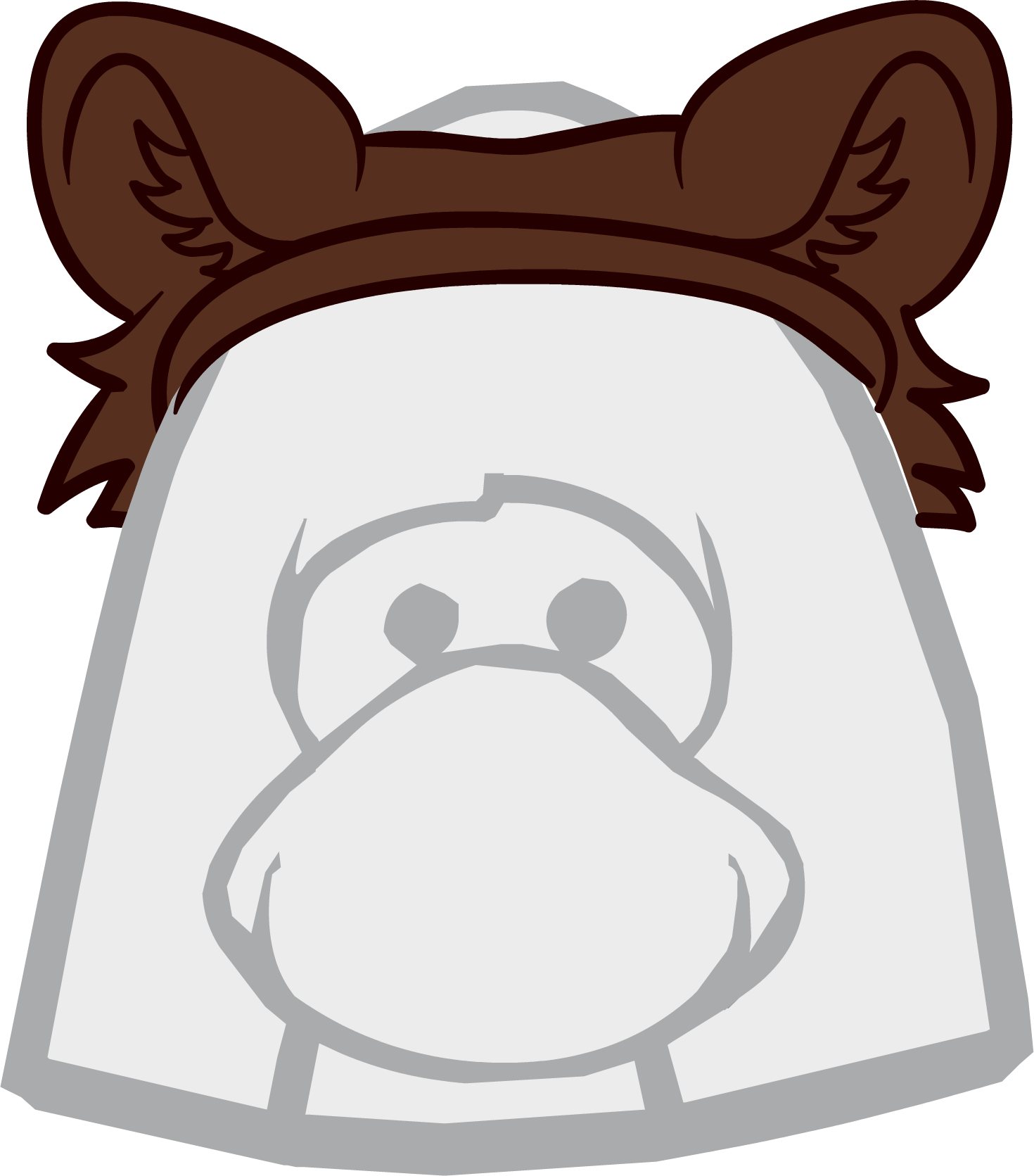 Bear ears png. Image club penguin wiki