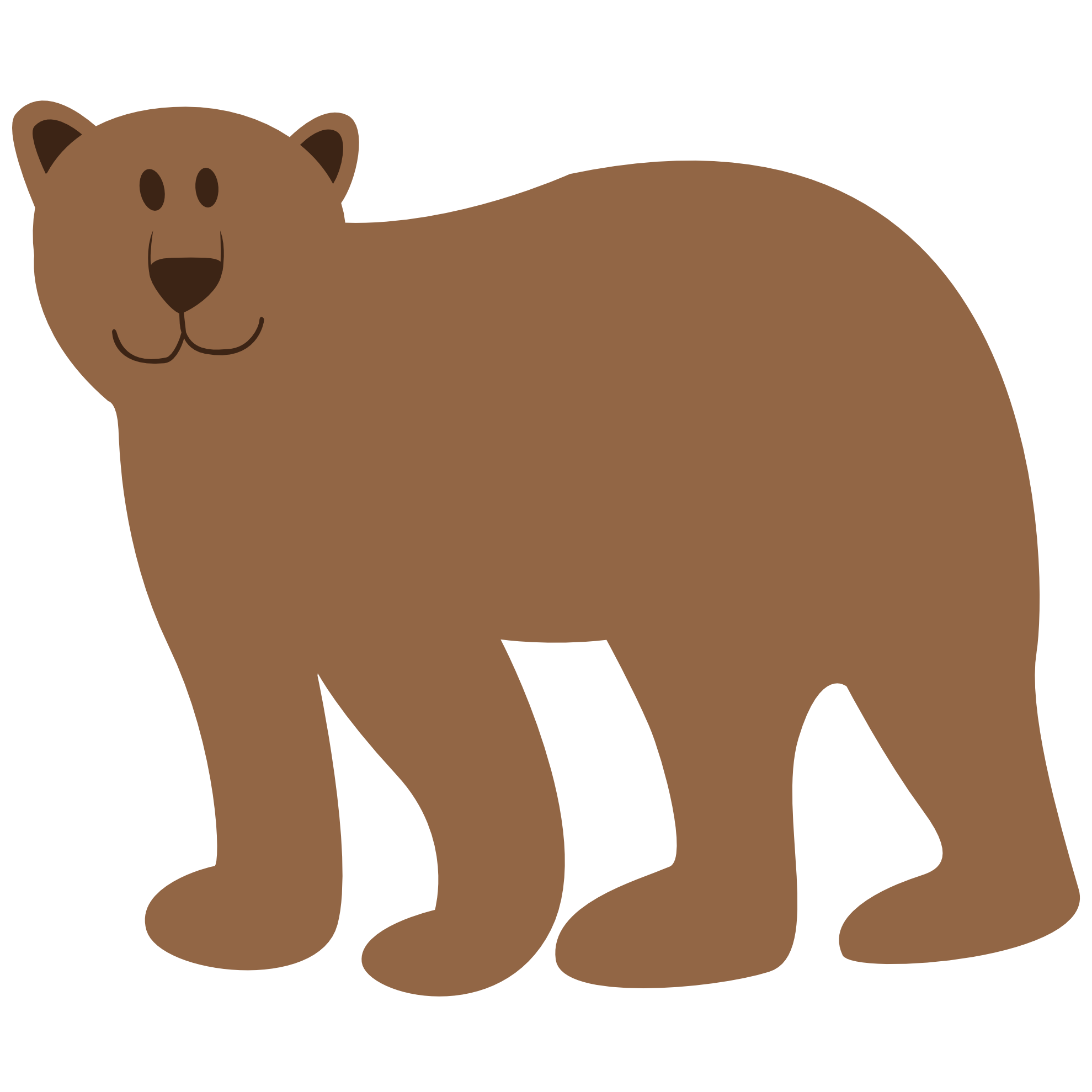 Bear png clipart. Clipartist net search results