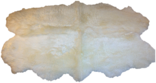 Bear skin rug png. Glacier wear double white