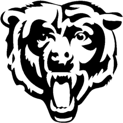 Bear sports logo png. Free football clipart graphics