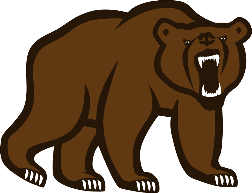 grizzly drawing logo