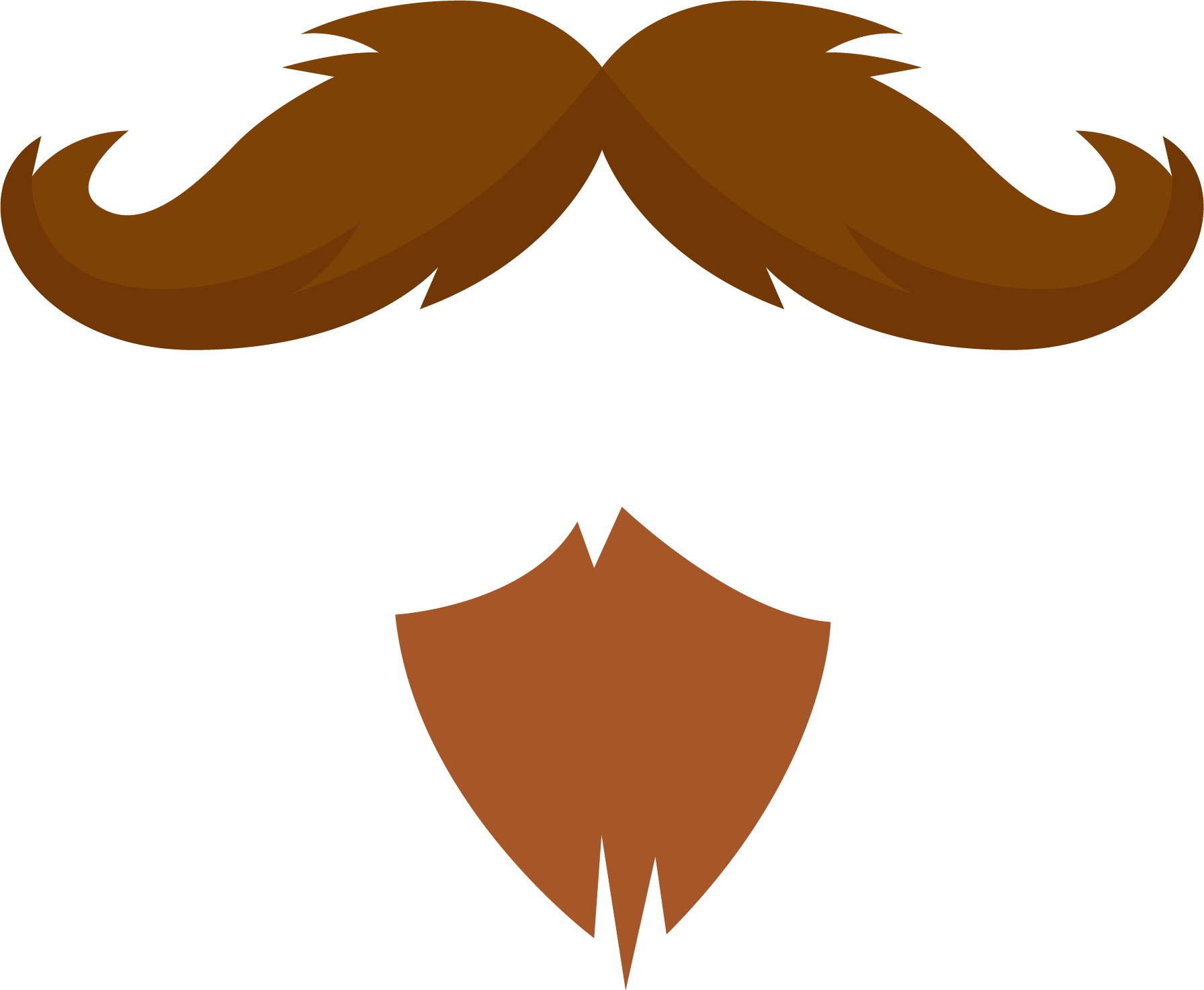 mustache png red