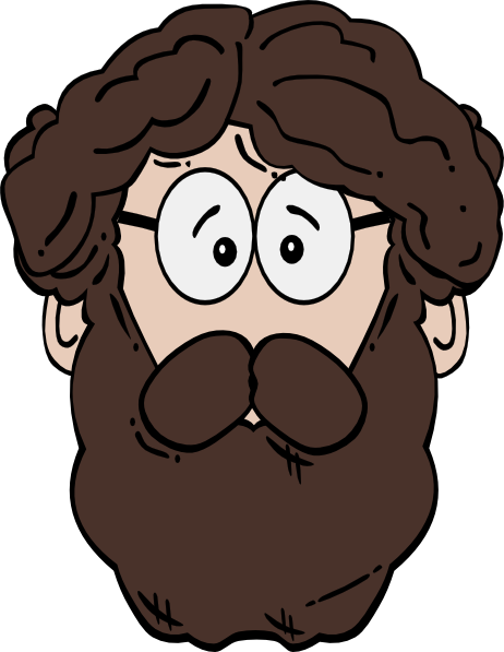 Beard clipart long beard.