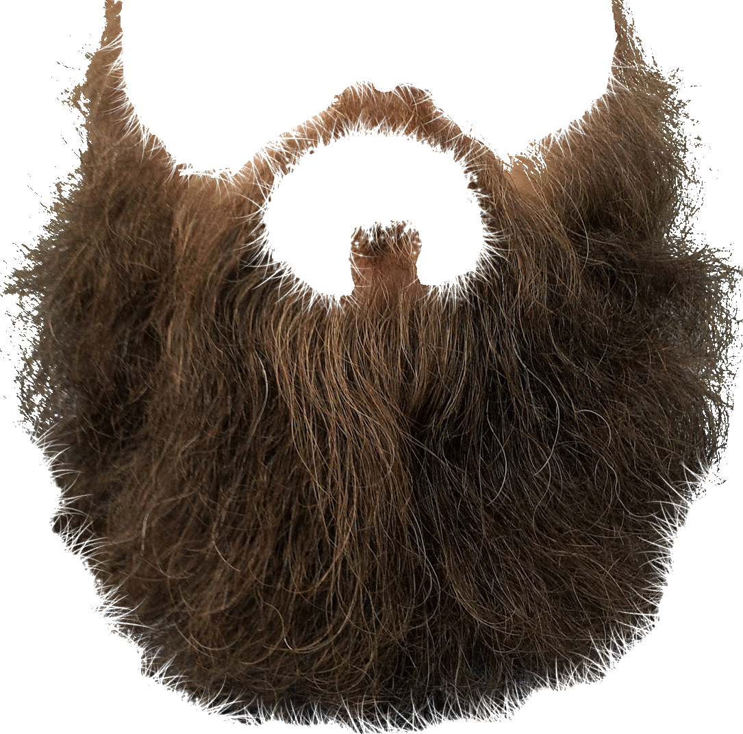 Beard clipart long beard. Clip art transparent png