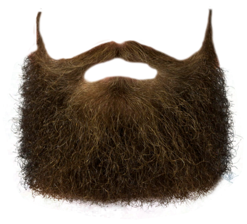 Transparent goatee mustache. Beard png images free