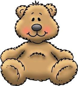 Bears clipart easy bear. Simple teddy drawing at