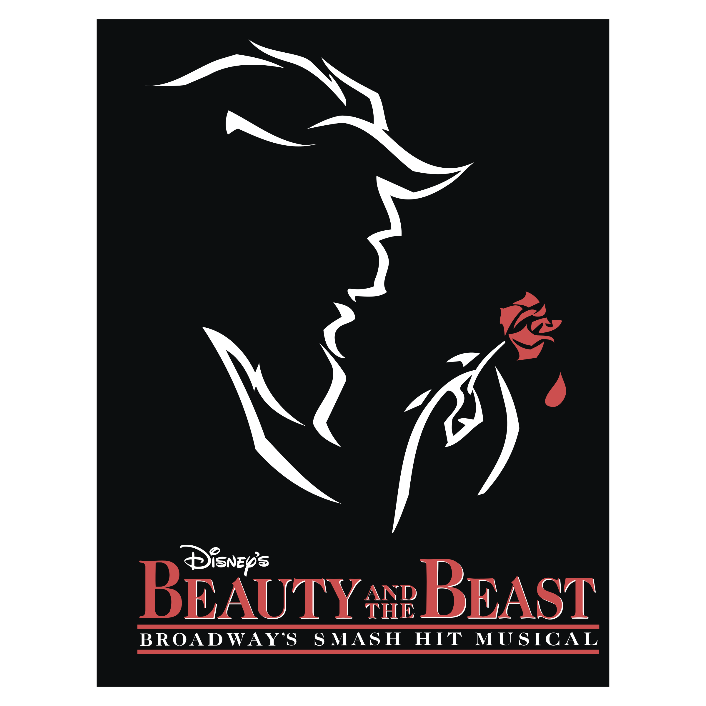 Beast vector detailed. Beauty and the logo