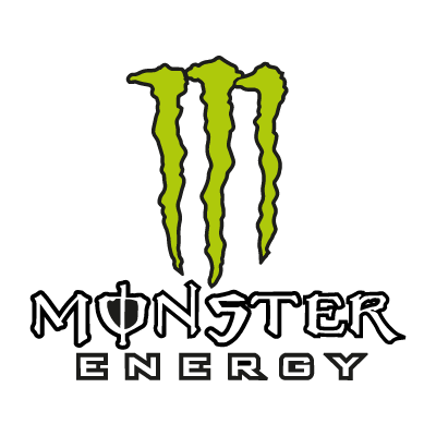 Beast vector symbol. Monster energy eps logo