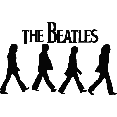 Beatles vector abbey road. Download free snowboarding silhouettes