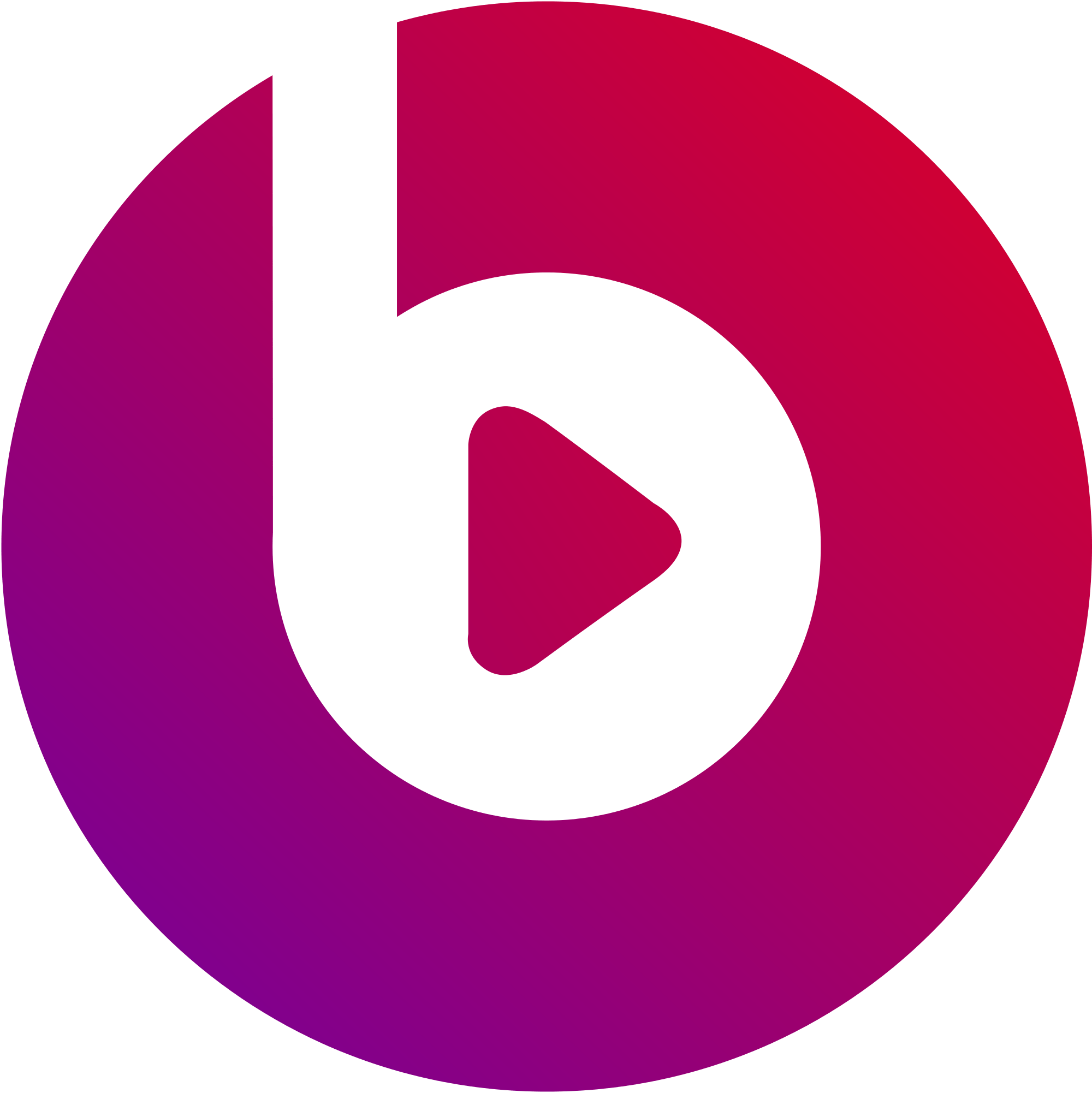 Beats logo png. Transparent stickpng