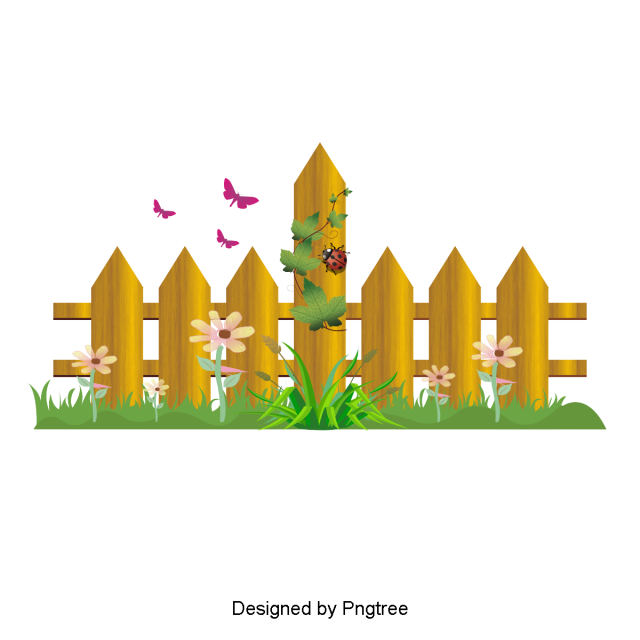 Paintbrush clipart painting fence. Beautiful cartoon cute hand