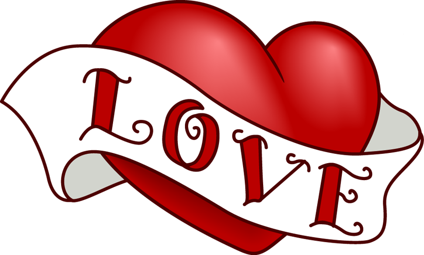 Beautiful clipart sash. Love heart picture krazy