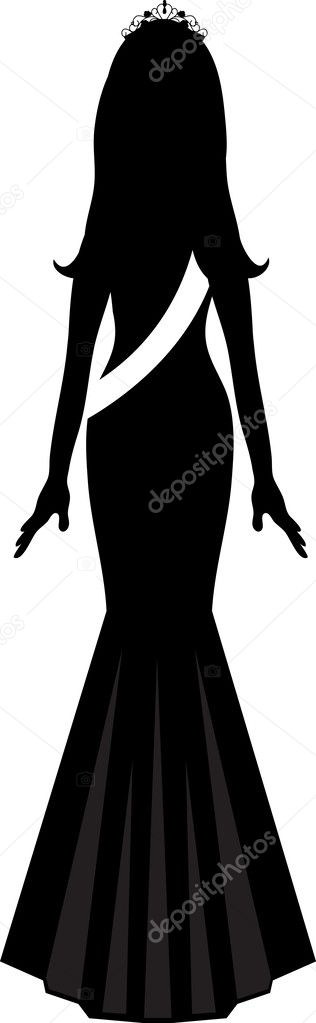Beautiful clipart sash. Free beauty pageant clip