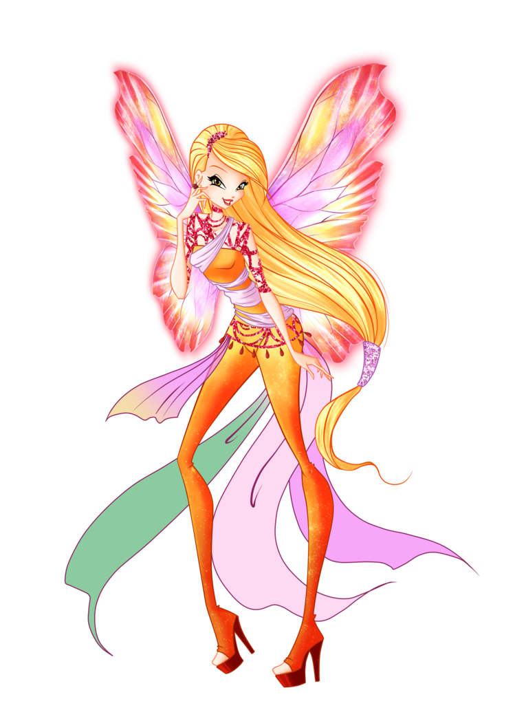 Beautiful fairy png. Stella dreamix by thedamnedfairy