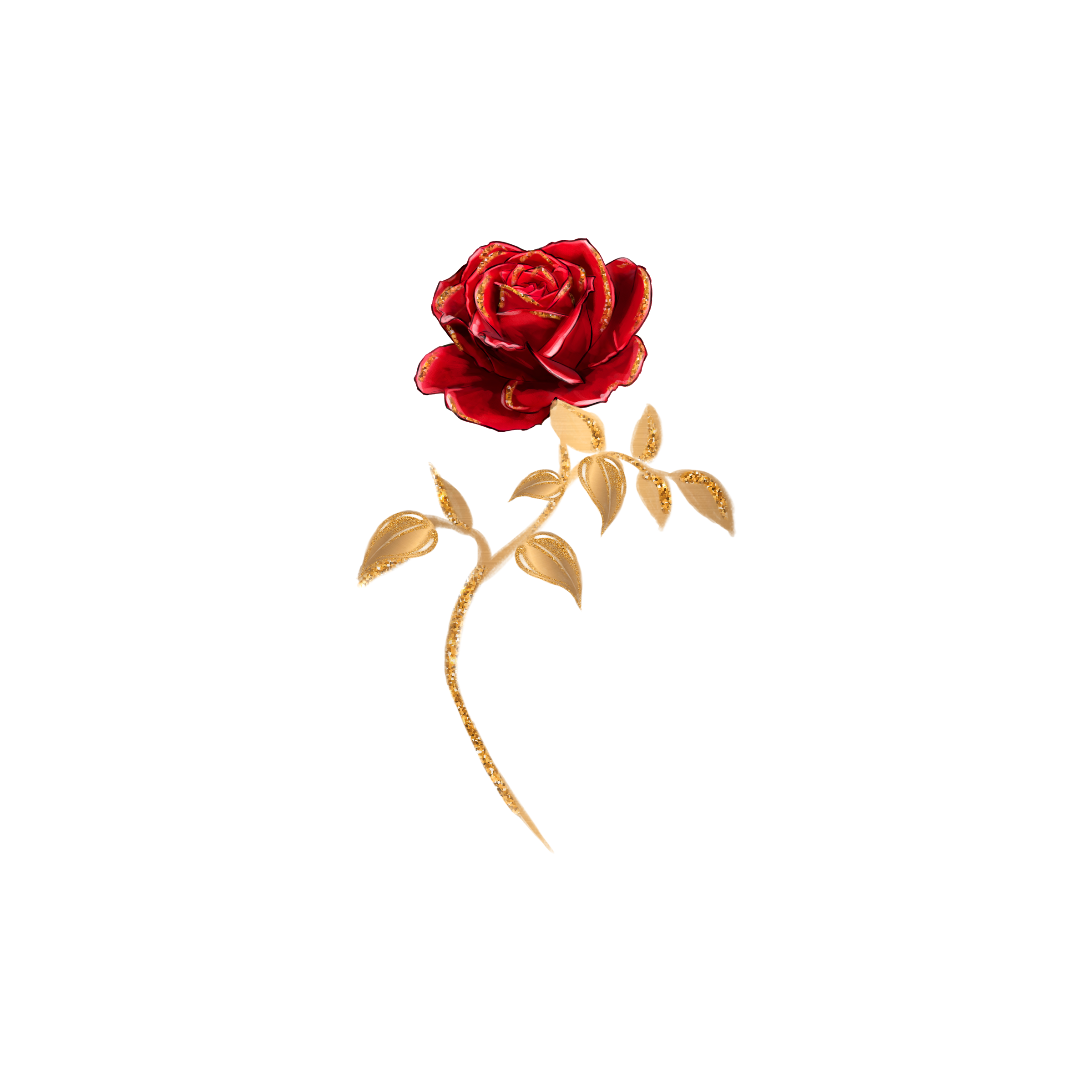 Beauty and the beast rose png. Instagram give away books