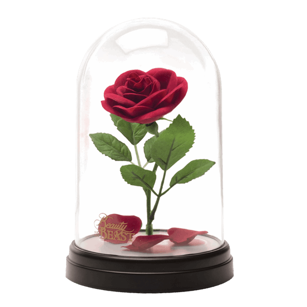 Beauty and the beast rose png. Disney light up replica