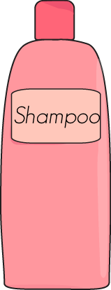 Shampoo drawing bottle. Free cliparts download clip