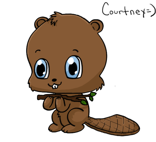 beaver with saw png
