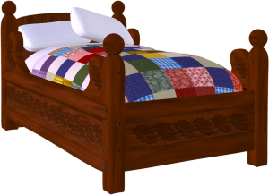Bed clipart bed frame. Clip art free panda