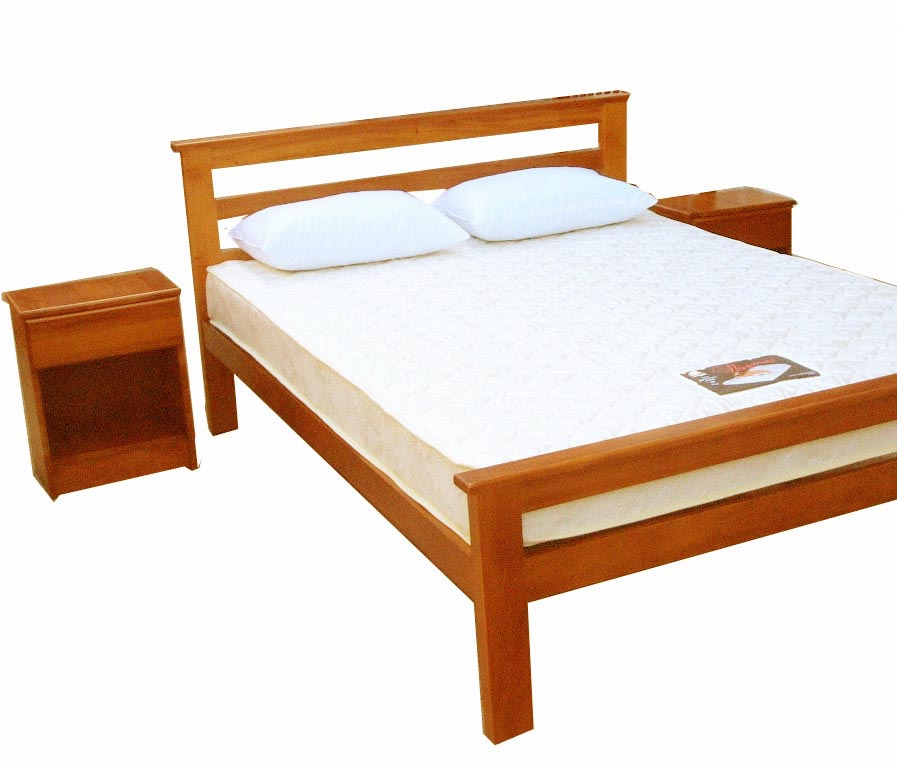 Bed clipart bed frame. Simple wood panda free