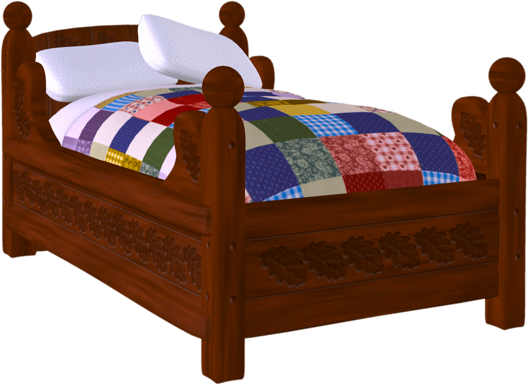 Bed clipart bed frame. My cute graphics clipartbed