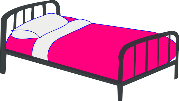 Free cartoon bed cliparts. Bedroom clipart png royalty free