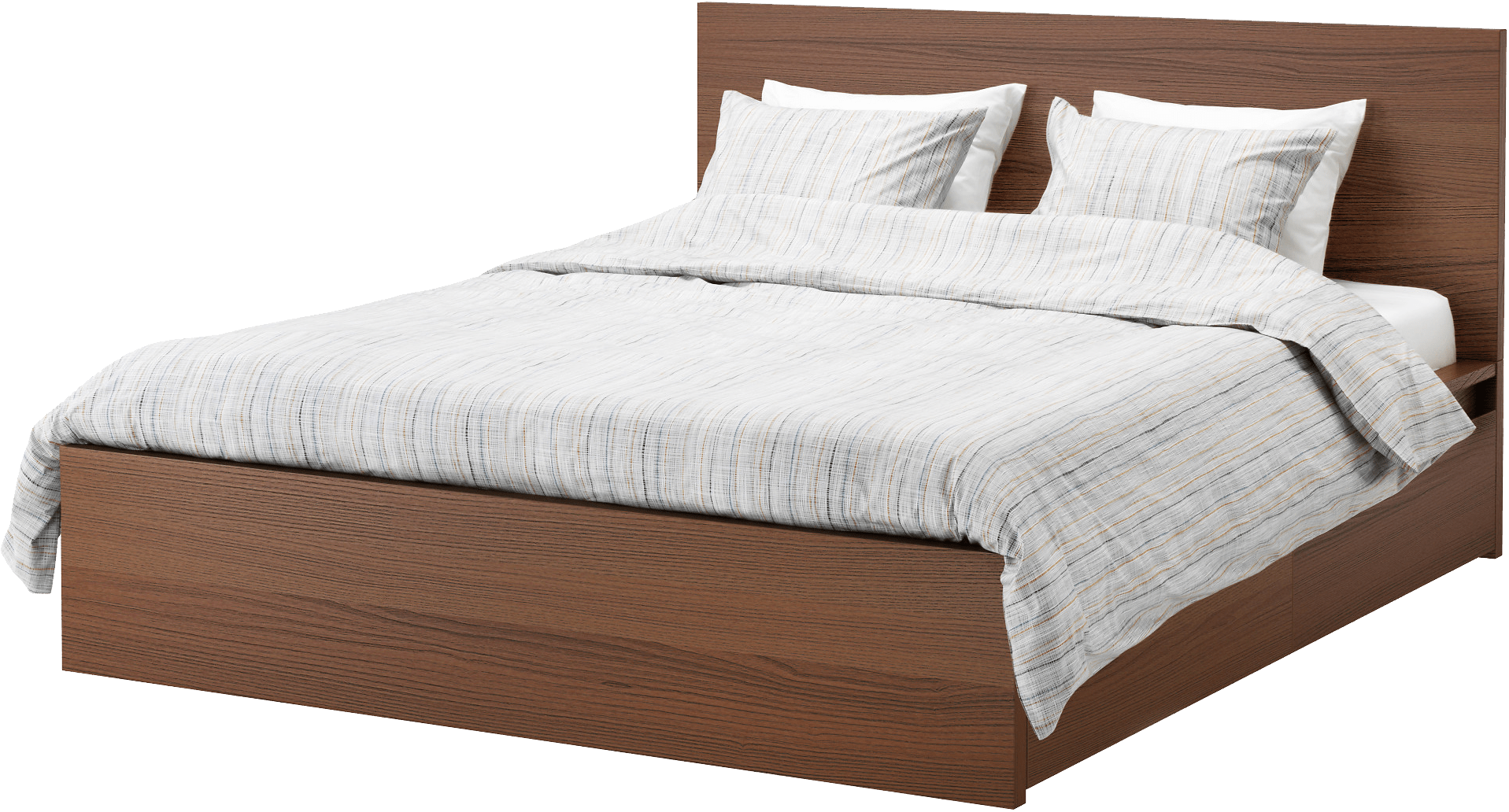 Drawing bed wooden. Romantic royal transparent png