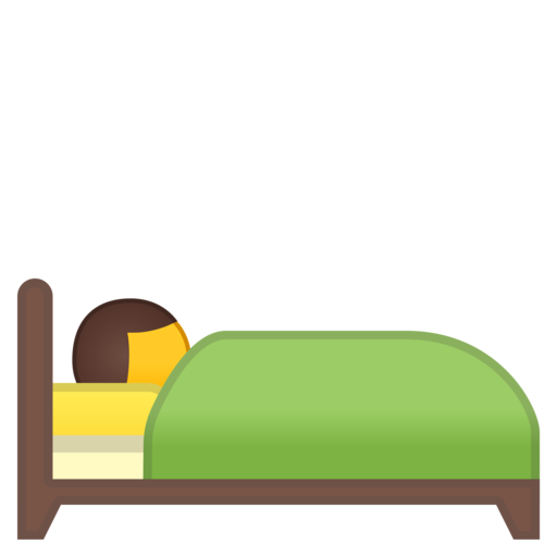 Bed emoji png. Google android oreo