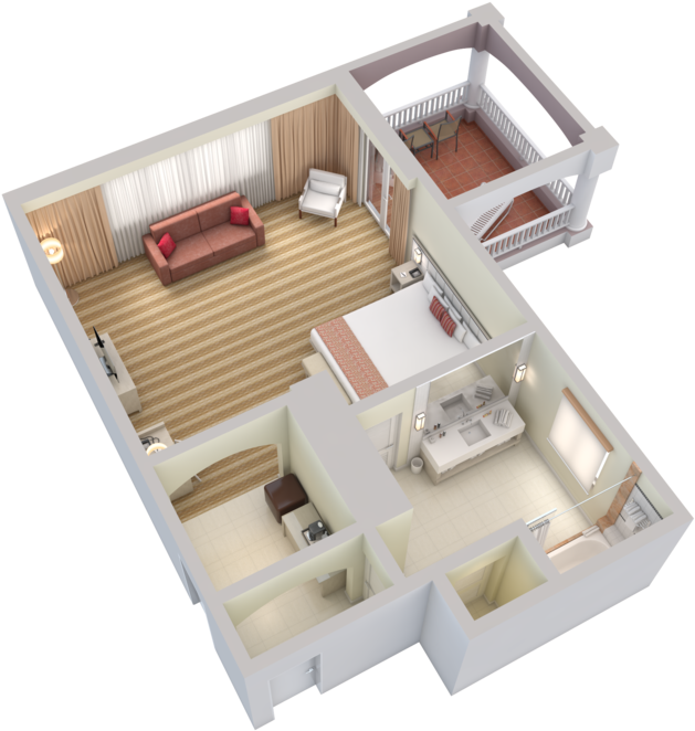 Bed top view png. Download single los angeles