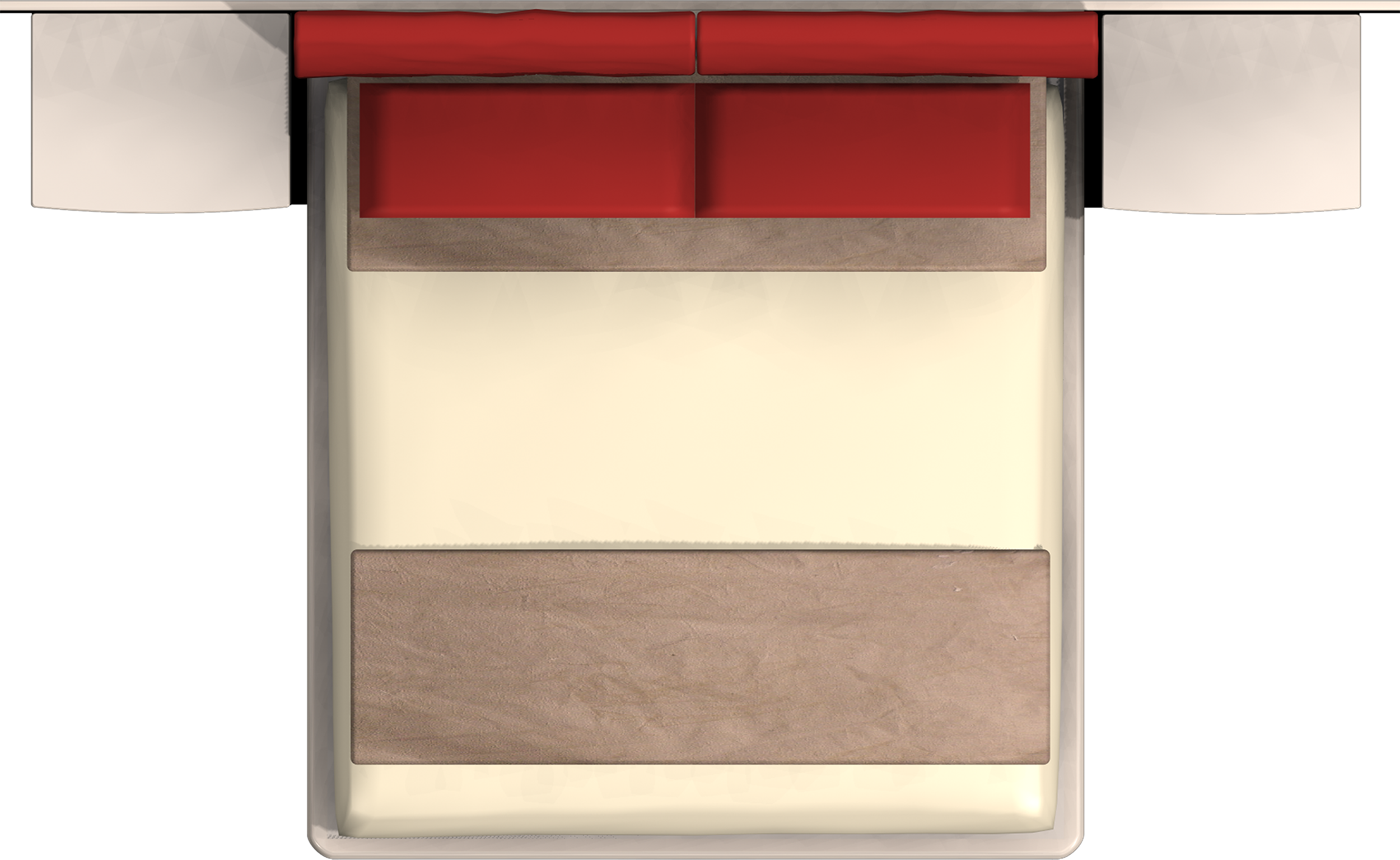 Bed top view png. Google furnitur mais