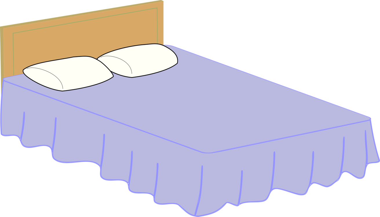 Bedroom clipart. Bed size furniture mattress
