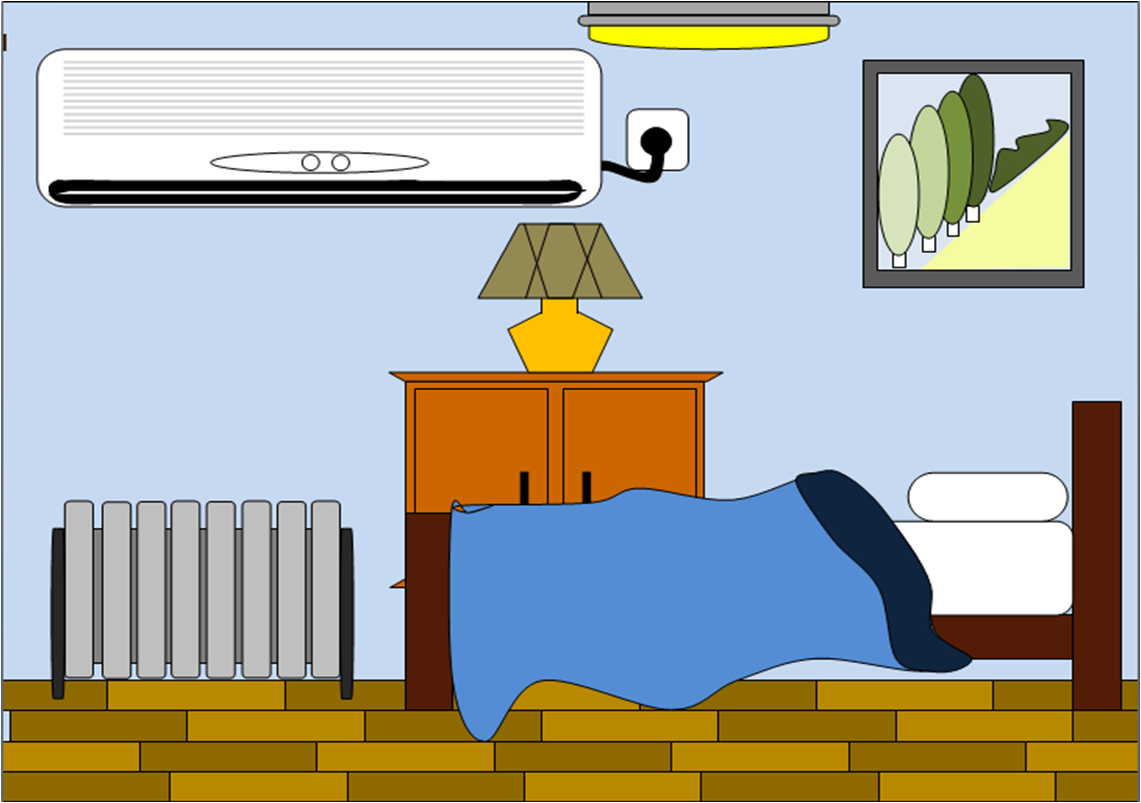 Bedroom clipart 3 bed. Free images at clker