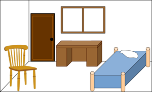 Panda free images bedroomclipart. Bedroom clipart picture black and white stock