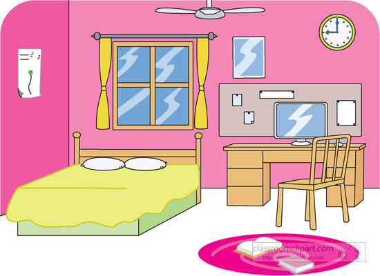 Bedroom clipart graphic free