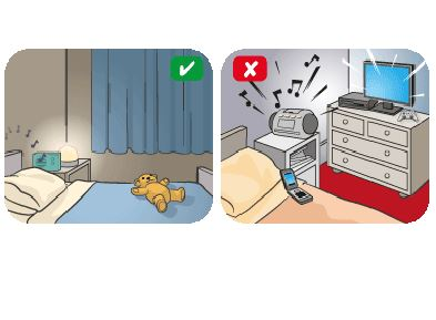 Bedtime clipart sleep hygiene. What is your environment