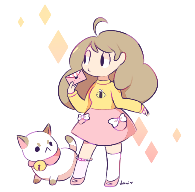 Bee and puppycat png. By milkii ways on
