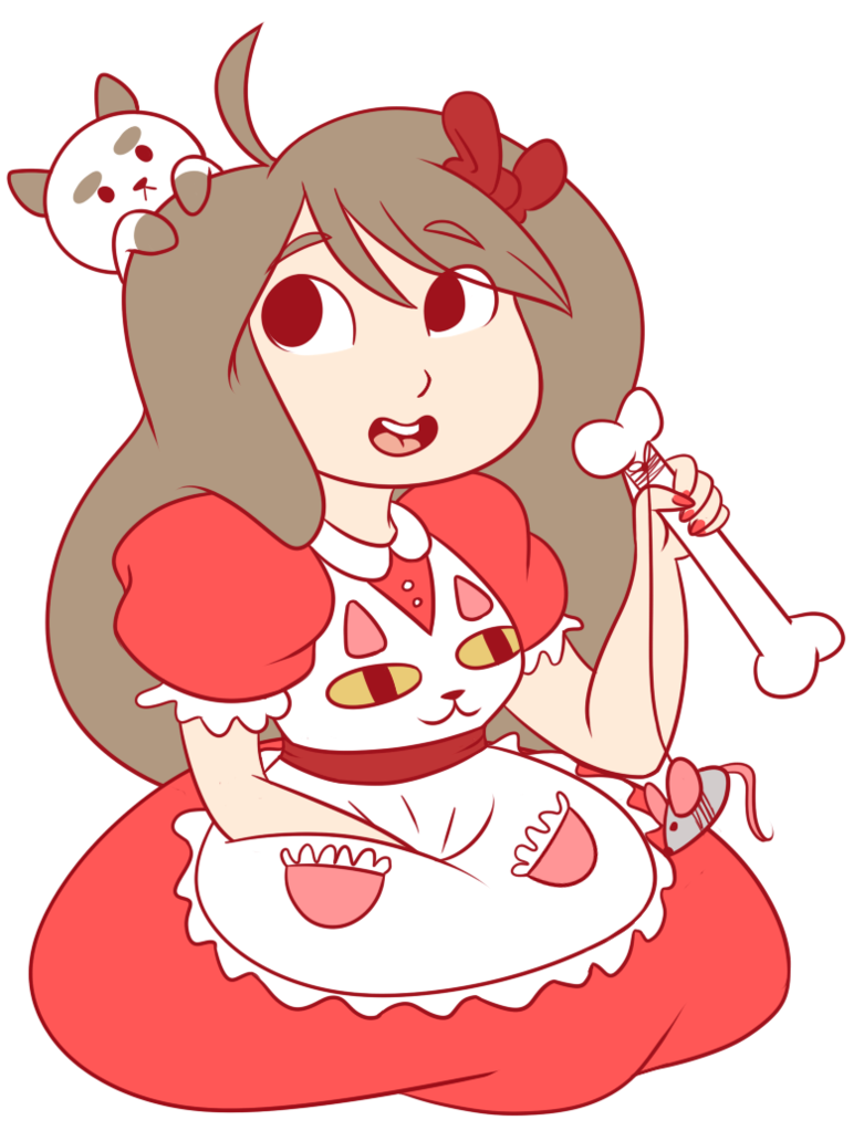 Bee and puppycat png. By candybattleaxe on deviantart