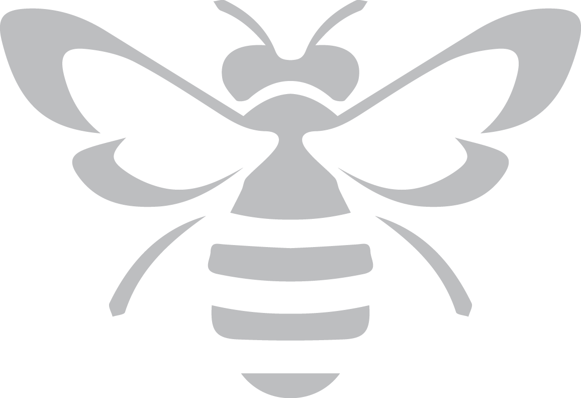 Bee black and white png. Gray deborah vanderzel designs