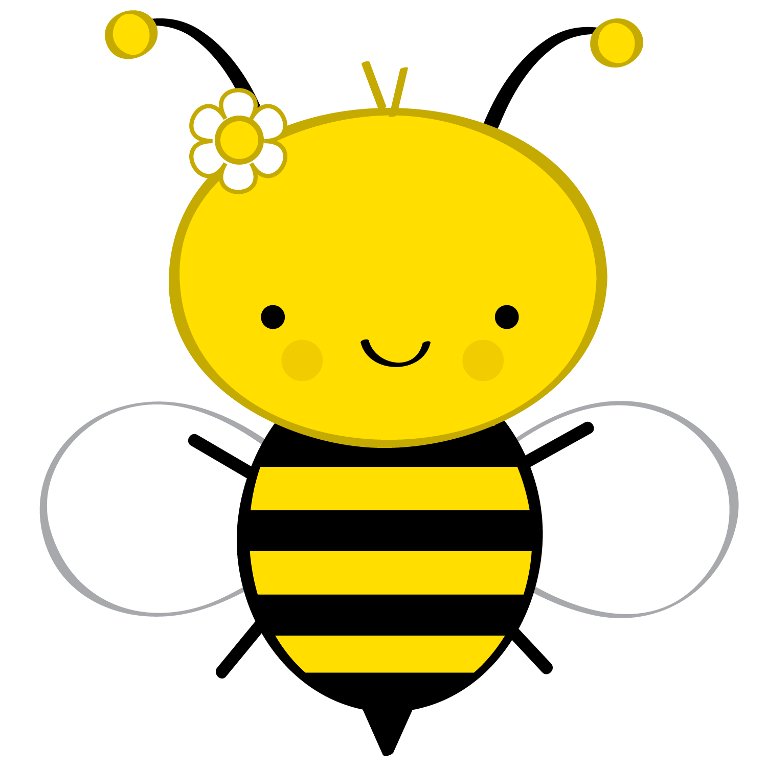 Bee cartoon png. Abelhinhas minus dibujos para
