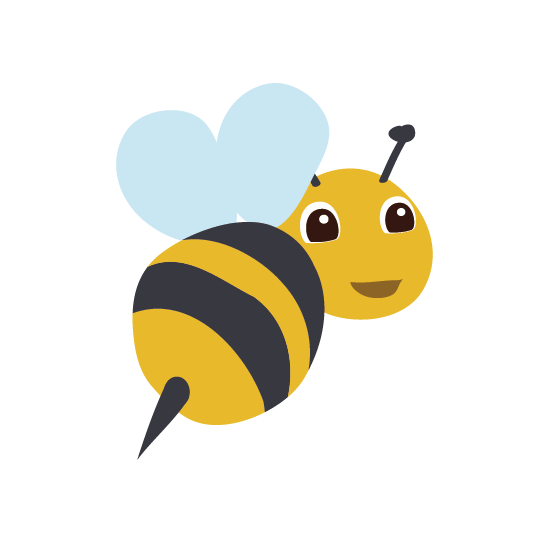 Bees transparent cartoon. Bee png images free
