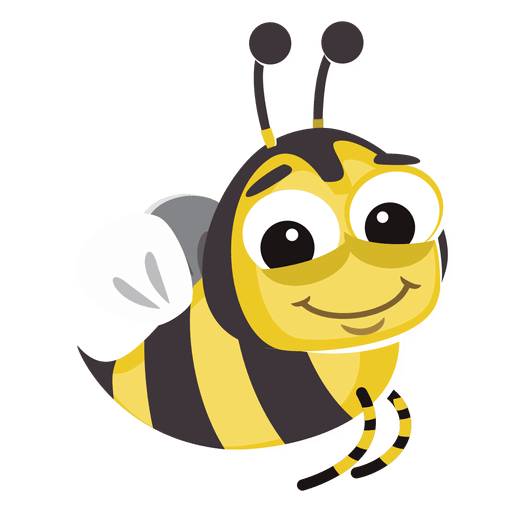Wasp vector svg. Bee cartoon bug transparent