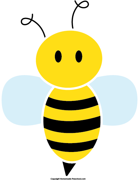 Bee clip art. Free clipart click to