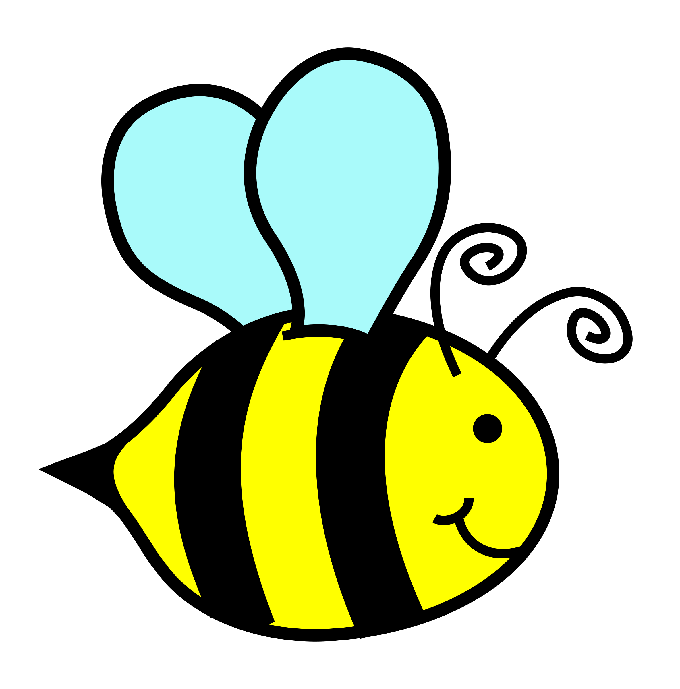 Bees transparent kid. Clipart bumble bee big