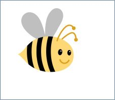 Bee clip art bumble bee. These images were created