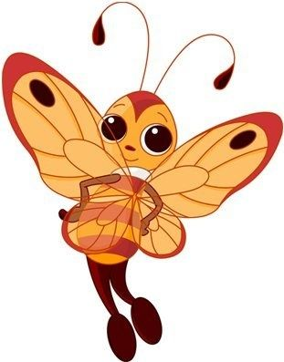 Bee clip art butterfly. Ceb be a