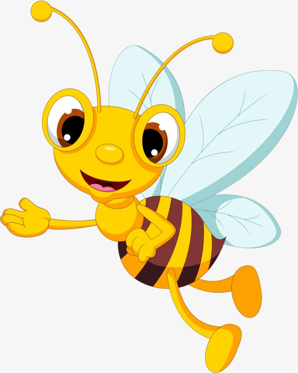 Bee clip art clear background. Png images download resources